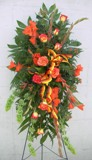 Orange Sherbet Spray in Lake Charles LA, A Daisy A Day Flowers & Gifts, Inc.