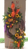 Hunting Memories Wreath in Lake Charles, Louisiana, A Daisy A Day Flowers & Gifts, Inc.