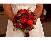 Hand Tied Bridal Bouquet in Toledo, Ohio, Myrtle Flowers & Gifts