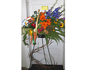 Vegetable Basket to honor the Gardener! in Fincastle VA, Cahoon's Florist and Gifts