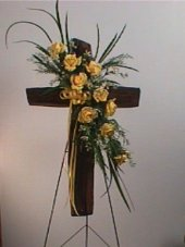 Resurrection in Yellow in Camden AR, Camden Flower Shop