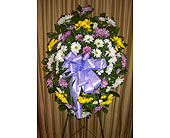 Fresh Funeral Easel in Kentwood LA, Glenda's Flowers & Gifts, LLC