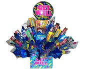 CB80 ''Get Well Wishes Candy Bouquet'' in Oklahoma City OK, Array of Flowers & Gifts