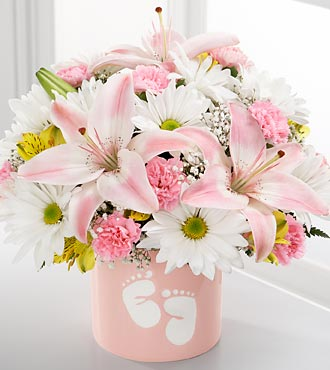 The FTD� Sweet Dreams� Bouquet - Girl - VASE INCLU in Highlands Ranch CO, TD Florist Designs