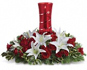 Teleflora's Wondrous Night Centerpiece in Toronto ON, LEASIDE FLOWERS & GIFTS
