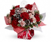 Teleflora's Snow Flurries Present Perfect in Toronto ON, LEASIDE FLOWERS & GIFTS