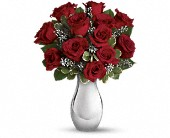 Teleflora's Winter Grace Bouquet in San Jose CA, Rosies & Posies Downtown