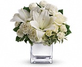 Teleflora's Peace & Joy Bouquet in Canton NY, White's Flowers