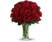 Love and Devotion - Long Stemmed Red Roses in Triangle VA, Mary's Flower Shop