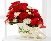 FTD Holiday Traditions Bouquet in Highlands Ranch CO, TD Florist Designs