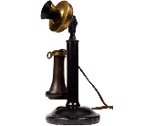 Working Antique Candlestick Phone $319 in Grand Rapids MN, Shaw Florists