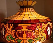 Antique Hanging Lamp $795 in Grand Rapids MN, Shaw Florists