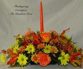 Fall Bright Centerpiece in Elkland PA, The Rainbow Rose