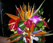 Tropical Bouquet in Orange Beach, Alabama, Flowers By The Shore