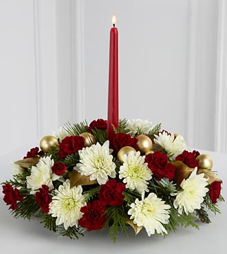 Light & Love Holiday Centerpiece - Best in Highlands Ranch CO, TD Florist Designs