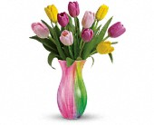 Teleflora's Spring Rainbow Bouquet in Watertown NY, Sherwood Florist
