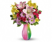 Teleflora's Shades of Spring in Watertown NY, Sherwood Florist