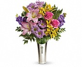 Teleflora's Silver Cross Bouquet in Edmonton AB, Petals For Less Ltd.