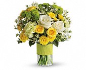 Your Sweet Smile by Teleflora in Mississauga ON, Mums Flowers