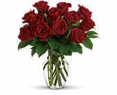 Enduring Passion - 12 Red Roses in Waldron AR, Ebie's Giftbox & Flowers