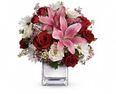 Teleflora's Happy in Love Bouquet in Seattle WA, Hansen's Florist