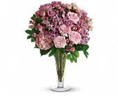 A La Mode Bouquet with Long Stemmed Roses, picture