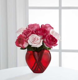 The FTD Art of Love Valentine Rose Bouquet in Highlands Ranch CO, TD Florist Designs