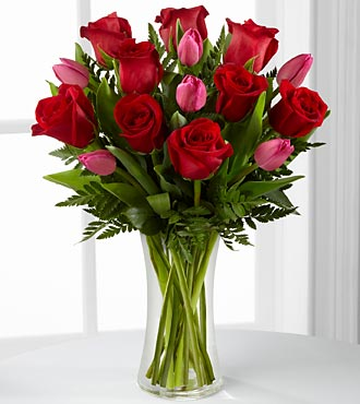 The FTD� Love Wonder� Bouquet - VASE INCLUDED in Highlands Ranch CO, TD Florist Designs