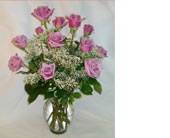 Dozen Lavender Roses in Naples FL, Gene's 5th Ave Florist