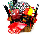 GB320  ''Smokin Hot BBQ'' Men's Gift Basket in Oklahoma City OK, Array of Flowers & Gifts