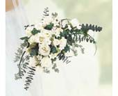 Crescents of White in Brooklyn NY, Enchanted Florist