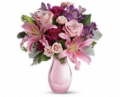 Enchanting Pinks by Teleflora in Bellevue WA, Bellevue Crossroads Florist