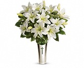 Teleflora's Sacred Cross Bouquet in Stuart, Florida, Harbour Bay Florist