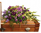 Reflections of Gratitude Casket Spray in Bradenton FL, Florist of Lakewood Ranch