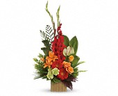 Heart's Companion Bouquet by Teleflora in Oakland CA, Lee's Discount Florist