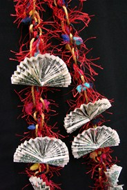 Money Lei in Cerritos CA, The White Lotus Florist