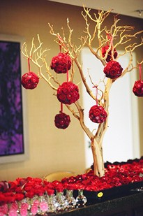 Manzanita Wishing Tree in Cerritos CA, The White Lotus Florist