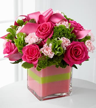 FTD-Blushing Invitation Bouquet in Woodbridge VA, Lake Ridge Florist