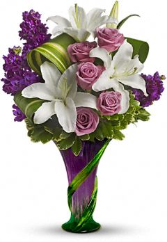 Teleflora's Indulge Her Bouquet - Lavender Roses  in Highlands Ranch CO, TD Florist Designs