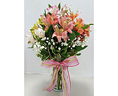 Awesome Alstroemeria in Raleigh NC, Gingerbread House Florist - Raleigh NC