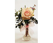 Single-Stem-Cream-Rose in San Clemente CA, Beach City Florist