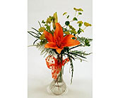 Single-Stem-Orange-Lily in San Clemente CA, Beach City Florist