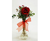 Single-Stem-Red-Rose in San Clemente CA, Beach City Florist