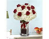 Roses-and-Snowflakes in San Clemente CA, Beach City Florist