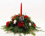 Wonderful-Christmas-Centerpiece in San Clemente CA, Beach City Florist