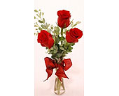 Get-Shorty-Red-Three in San Clemente CA, Beach City Florist