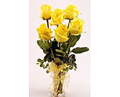 Get-Shorty-Yellow-Six in San Clemente CA, Beach City Florist