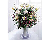 The-FTD-Premium-Long-Stemmed-White-Rose-Bouquet in San Clemente CA, Beach City Florist