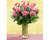 The-FTD-Premium-Long-Stemmed-Pink-Rose-Bouquet in San Clemente CA, Beach City Florist