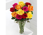 The-FTD-Bright-Spark-�-Rose-Bouquet in San Clemente CA, Beach City Florist